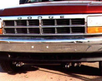Blue Ox Bx1919 Base Plate F/dodge Dakota No Sport 91-94