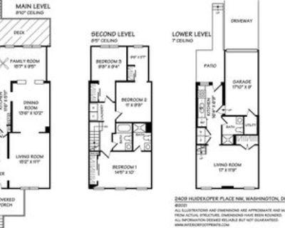 2409 Huidekoper Pl Nw #1, Washington, DC 20007 4 Bedroom Apartment