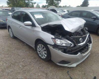 Salvage Silver 2016 Nissan Sentra