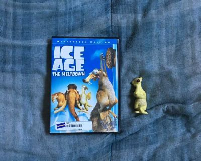 Lot Of Ice Age DVD And Figure