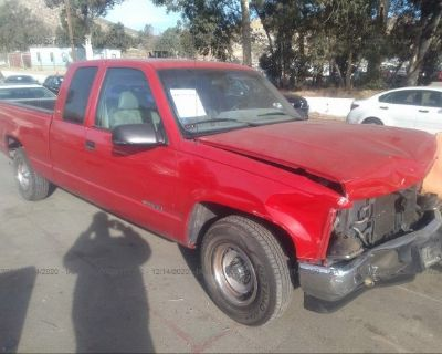 Salvage Red 1995 Chevrolet Gmt-400