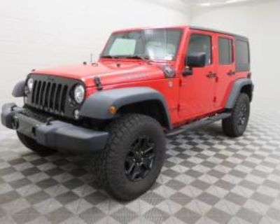 2018 Jeep Wrangler Unlimited Willys Wheeler W (JK)
