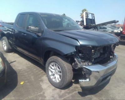 Salvage Gray 2020 Chevrolet Silverado 1500