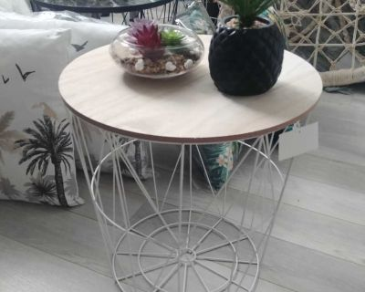 SIDE TABLES OR AS STORAGE BASKETS DIFFERENT STYLES AND PRICES