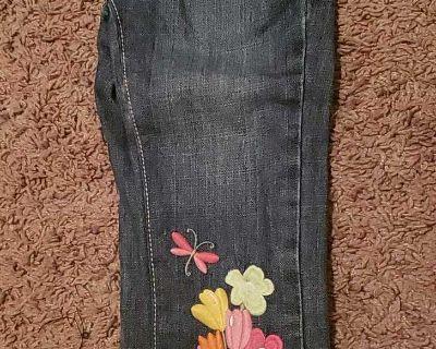 Embroidered Gymboree Capri Jeans Size 4