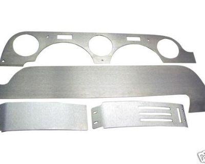 Aluminum Dash Kit Insert - Non-air -68 Mustang [50-2068a]