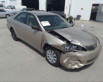 Salvage Beige 2006 Toyota Camry