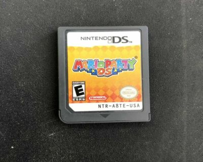 Mario party ds cart only