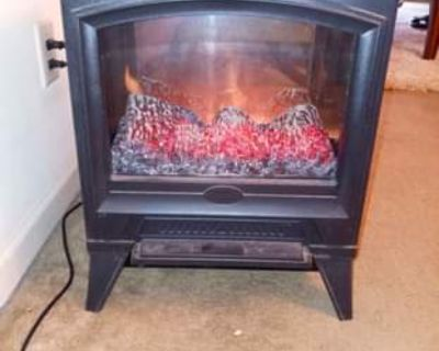 Dimplex electralog electric fireplace EUC heat &flame or just flame