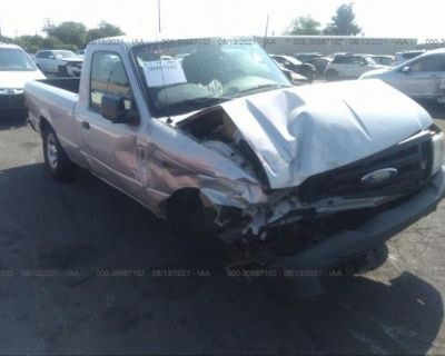 Salvage Silver 2008 Ford Ranger