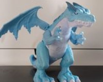 Ice Dragon Action Toy