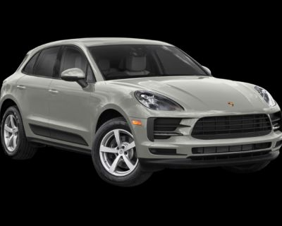 New 2021 Porsche Macan Base With Navigation & AWD