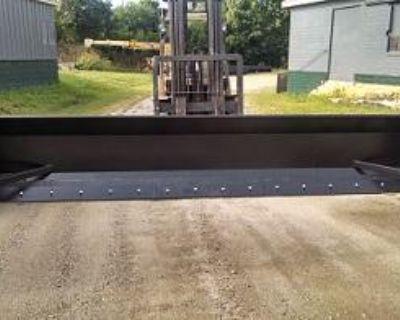 Linville Steel & Rubber Blade Snow Pusher Plow LIFETIME WARRANTY