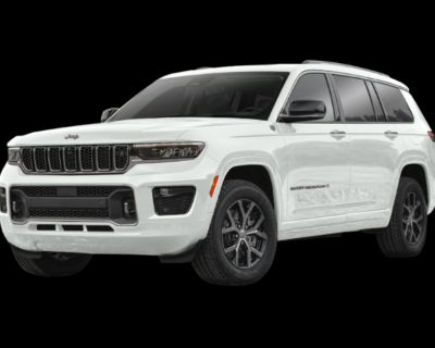 New 2021 Jeep Grand Cherokee L Summit With Navigation & 4WD