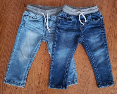 EUC 2T Cat and Jack jeans