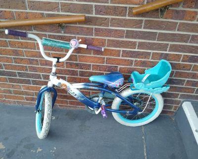 """16"""" girls frozen bike"""