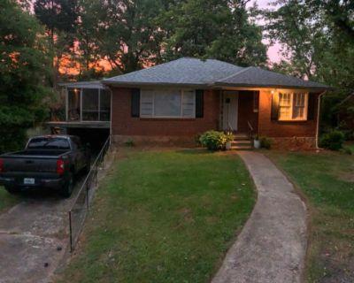 Vintage Brick Walled Home with Enclosed Patio, Decatur, GA