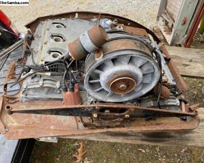 Porsche Motor Engine 2.0 Long Block 1969