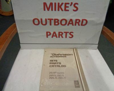 1975 Johnson Outboard 25hp Parts Catalog @@@check This Out@@@