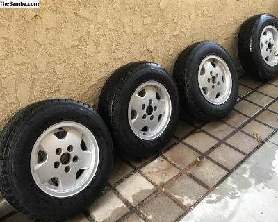Vanagon Alloy Wheels