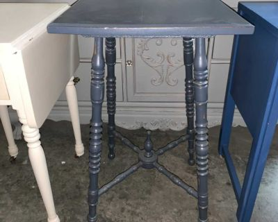 Antique Navy side table