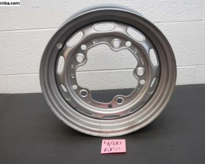Single Painted Steel 4/60 KPZ Wheel for Drum 356
