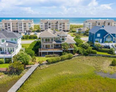 Incredible Views! Spacious 4br/4.5ba waterfront home including private dock! - Shell Island