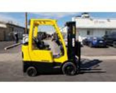 2012 LP Gas Hyster S50FT Cushion Tire 4 Wheel Sit Down Indoor Warehouse