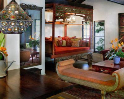 Exotic House & Tropical Garden, Los Angeles, CA