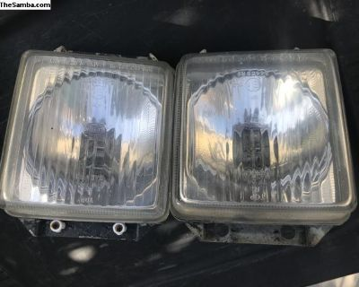 Vanagon square headlights high beam only