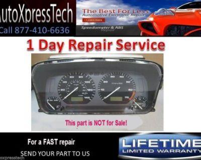 2000 Volkswagen Vw Jetta Cabrio Gauge Cluster Speedometer Repair Service