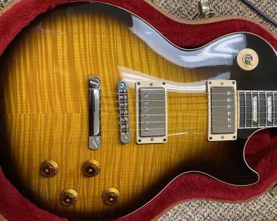 FS: 2001 Gibson Les Paul Standard Plus - Killer Flame Top!