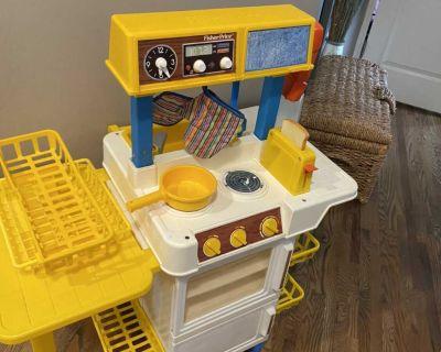 Vintage Fisher Price kitchen