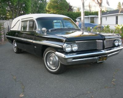 1962 Pontiac Hearse