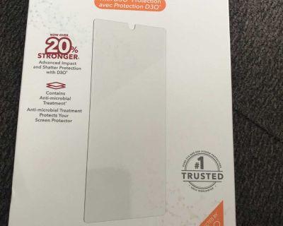 Samsung S21 + 5G invisible shield glass fusion protector
