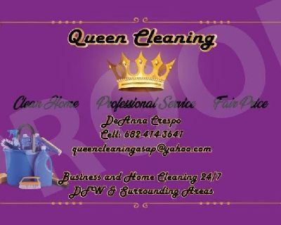 Queen Cleaning Residential & Business