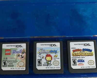 Nintendo DS Games - 3 Pack