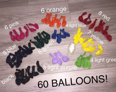 BALLOONS - for all occasions!