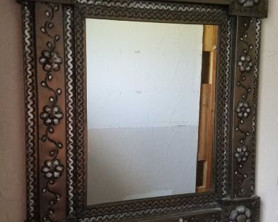 Metal Wall Mirror from Mexico