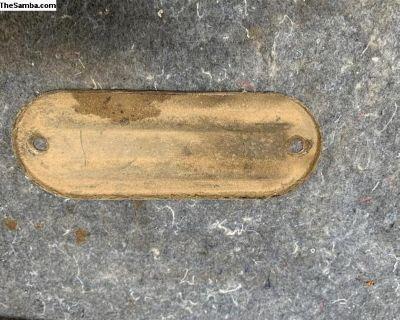 oval shift rod plate