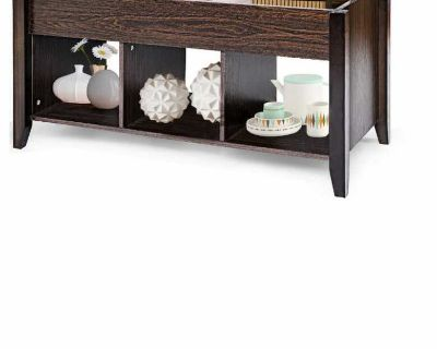 coffee table with liftable table top