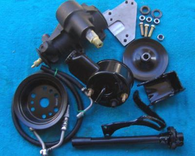 58/59/60/61/62/63/64 Cheverolet 605 Power Steering Setup-full Size-complete