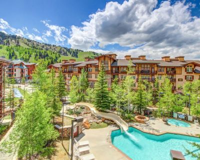 Mountainview condo w/ski-in/out access + Club Solitude access w/ pool & hot tub! - Salt Lake Mountain Resorts