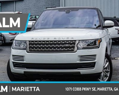 Pre-Owned 2017 Land Rover Range Rover 3.0L V6 Supercharged With Navigation & 4WD