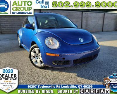 2007 Volkswagen New Beetle Coupe 2.5