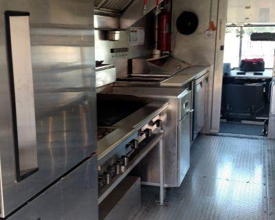 Food Truck, GMC 2003 workhorse