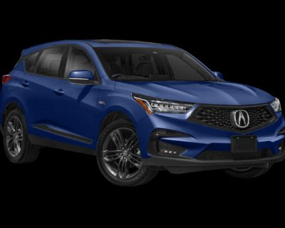 New 2021 Acura RDX A-Spec Package Front Wheel Drive SUV