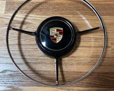 Porsche 356 B C Deluxe Horn Ring original restored