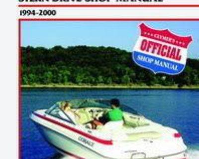 Volvo Stern Drive Boat Shop Service Repair Manual 5.0 4.3 Gl 5.7 Gi Sx Duo Prop