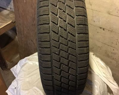 Four Nordic Ice Track Winter Tires on Rims